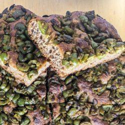 Green Olive Focaccia