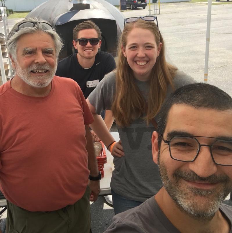 Kyle, Frank, Hazim, & Amanda