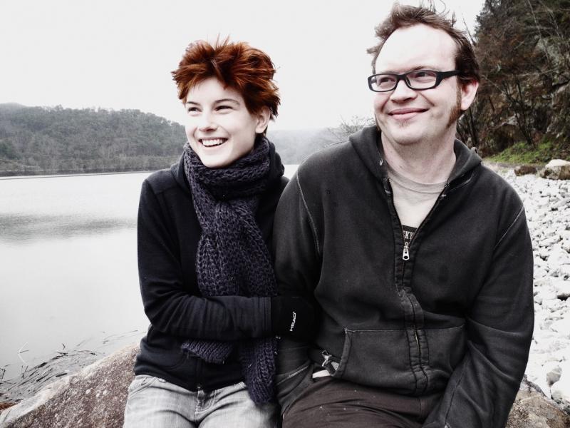 photo of authors John and Megan