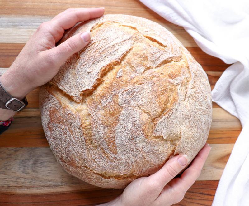 loaf of paesano bread