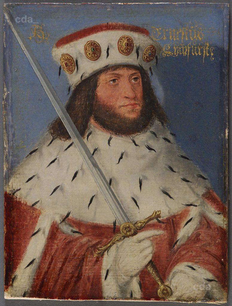 Posthumous Portrait of Prince Ernest Painting