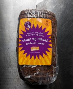 State St. Wheat bread in a plastic bag