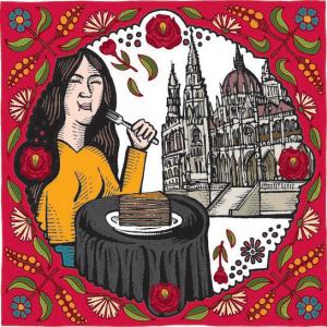hungarian baked goods cartoon