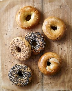 vegan breads—bagels