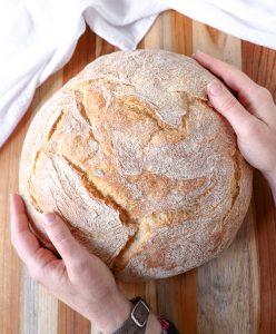 vegan bread—paesano