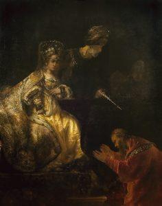Haman Before Ester