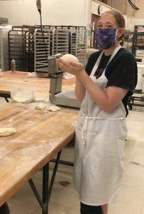 Amanda shaping dough