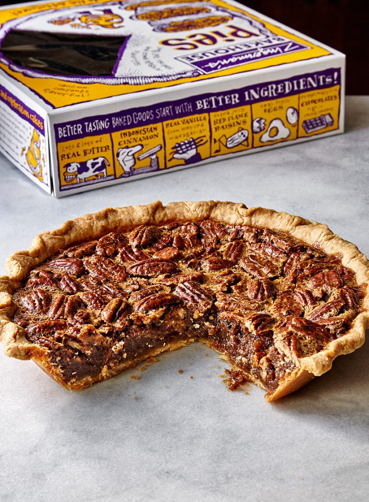 pecan pie box