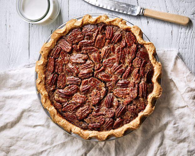 pecan pie larger