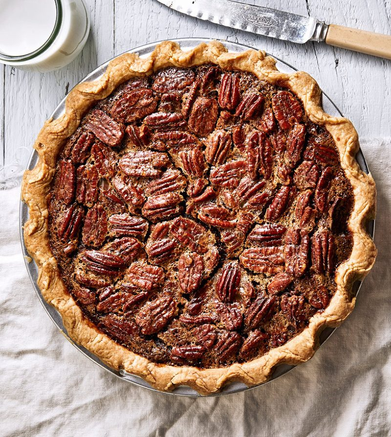 pecan pie larger
