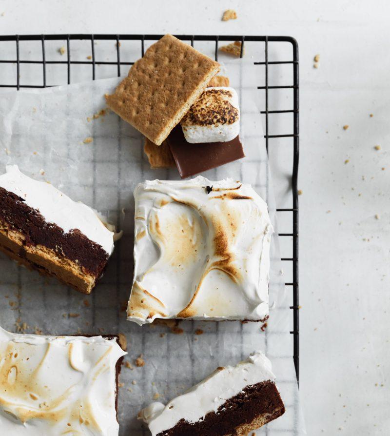 s'mores magic brownies - sarah crawford - magic brownies